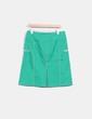 Jupe midi vert couture beige Hoss Intropia