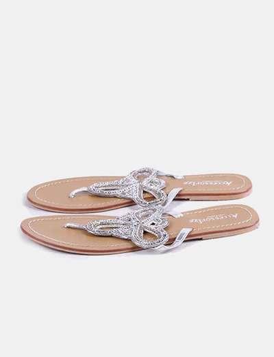 Sandales plates Accessorize