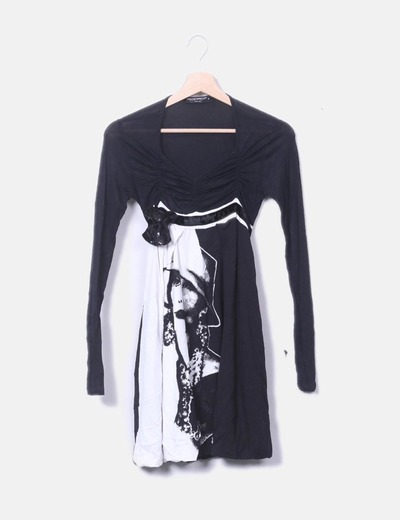 Robe noire de fille Rinascimento