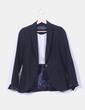 Blazer negra entallada Zara