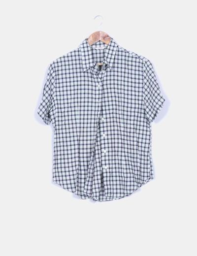 Camisa de cuadros manga corta Lloyd's