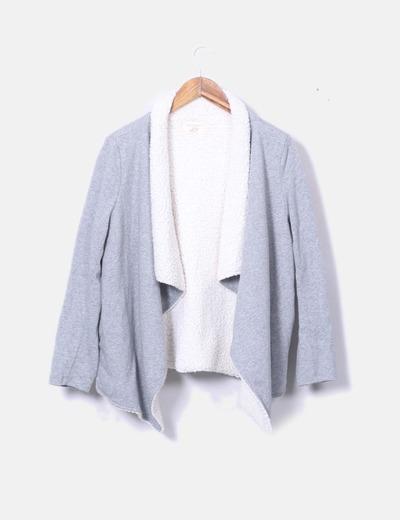 Kimono doble faz gris