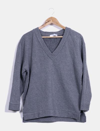 Top gris Zara
