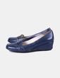 Zapato con cuña azul marino Stonefly