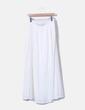 Maxi weißer Band mit Spitzendetail Zara