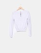Suéter fino detalle hombreras  H&M