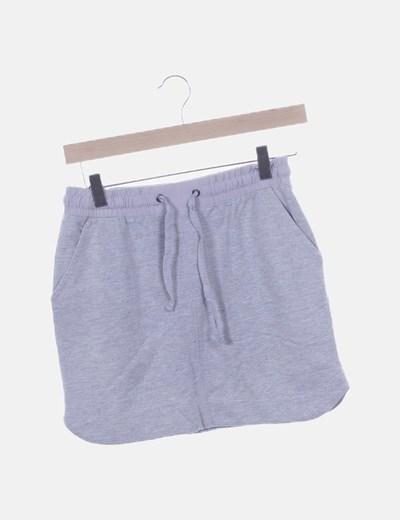 Falda gris sport