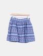Mini-jupe bleu imprimé ethnique Vero Moda