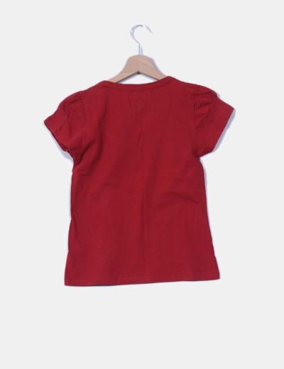 Camiseta manga corta roja