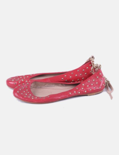 Bailarina roja tachas