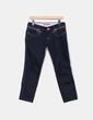 Jeans oscuro detalles cremalleras Fornarina