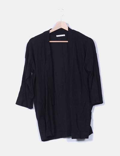 Chaqueta negra Zara