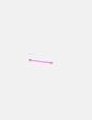 Piercing palo rosa flúor NoName