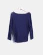 Jersey azul marino oversize Shana