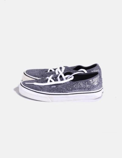 520c912b5a Vans Zapatillas de tela gris brillos (descuento 76%) - Micolet