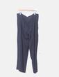 Conjunto top y pantalón fluido gris marengo Zara