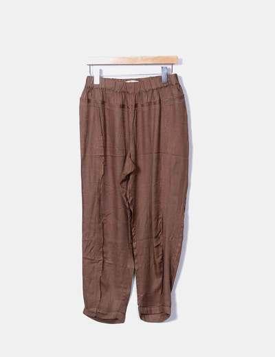 Pantalon baggy Mango