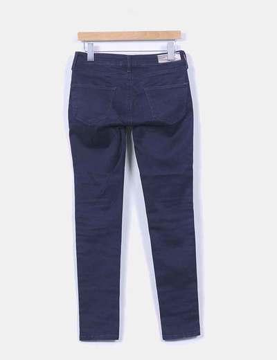 Pantalon denim elastico