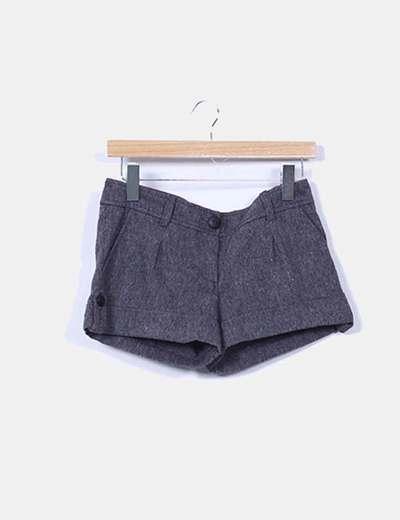 Shorts lana gris marengo Suiteblanco