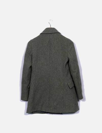 Abrigo largo verde