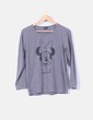 "Top gris ""Minnie Mouse"" Disney"