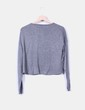 Top tricot gris Mango