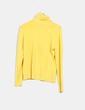 Jersey tricot amarillo cuello vuelto Swallow