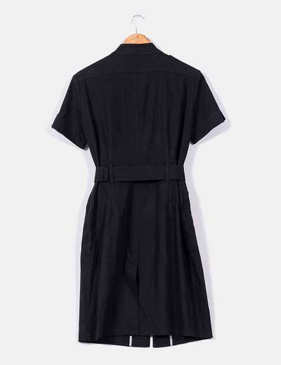 Vestido negro belstaff