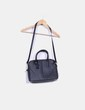 Bolso shoulder negro Zara