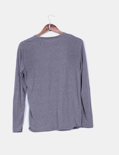 Jersey gris efecto viejo