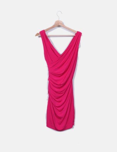 Etxart   Panno Vestido rosa com decote cruzado (desconto de 80%) - Micolet 10836258ec017