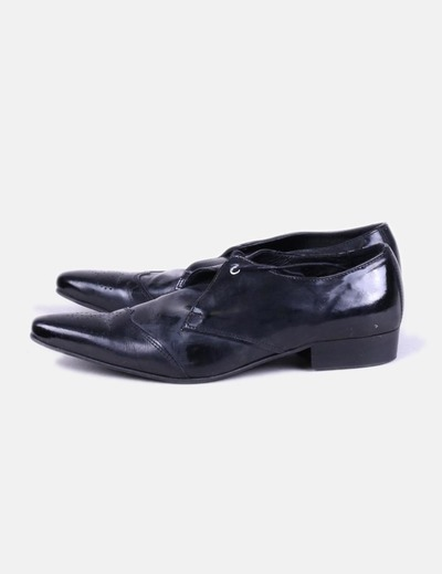 Black tipped shoes Pepe Jeans