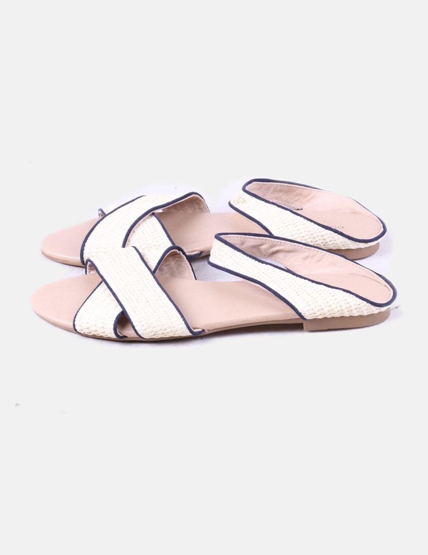Shutter Rafia De Oysho Rr4n6tqe Plana Zapatos Sandalia Fw1xt Mujer Amp; SUzVpM
