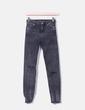 Pantalons mouchetures gris maigres Bershka