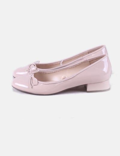 Bailarina rosa palo charol Parfois