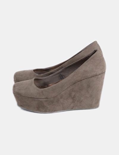 verdes amp;M cuña Zapatos con H vIw1d