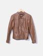 En cuir synthétique coupe-vent marron ONLY