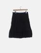 Falda midi negra guipur NoName