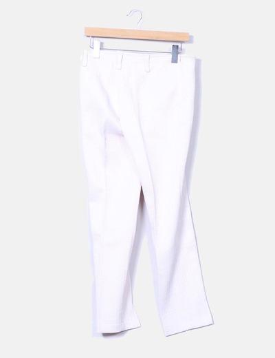 Pantalon rose texturé El Corte Inglés