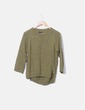 Jersey tricot verde Massimo Dutti