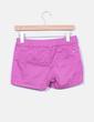 Shorts rosa bolsillos Mango