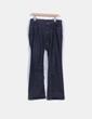Jeans rectos con strass en bolsillos Zara