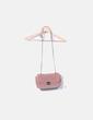 Bolso velvet rosa Cortefiel