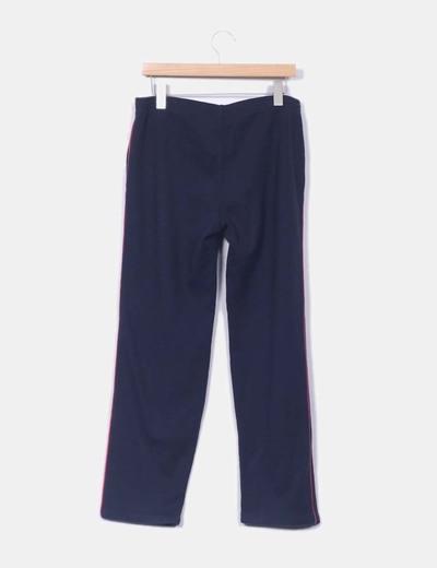 Pantalon deporte azul marino