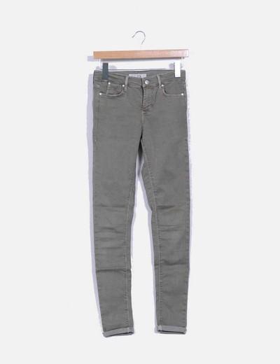 Pantalon kaki Topshop