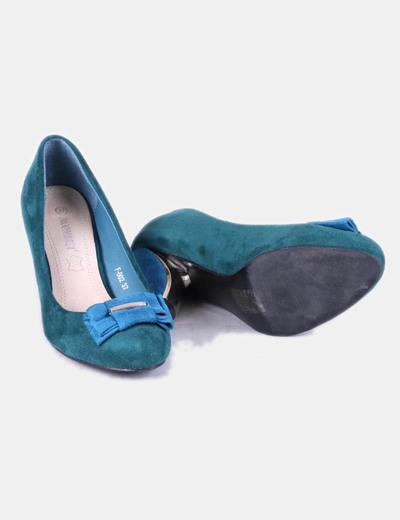Zapatos terciopelo con tacon