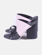Sandalia de tacón bicolor destalonada Asos
