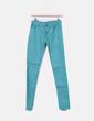 Jeans denim pitillo verde Compañía Fantástica