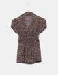 Camisa floral marrón Suiteblanco