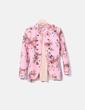 Casaca rosa nopreno floral NoName